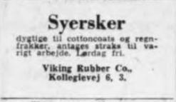 Die Geschichte Von Viking Rubber Co Hersteller Von Arbeitskleidung